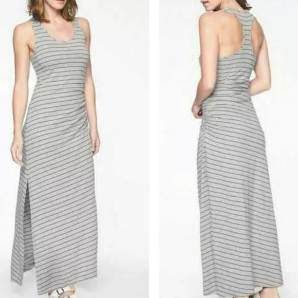 Athleta Playa Striped Maxi Tank Dress XL